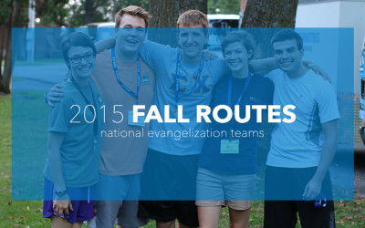 Fall 2015 Team Routes
