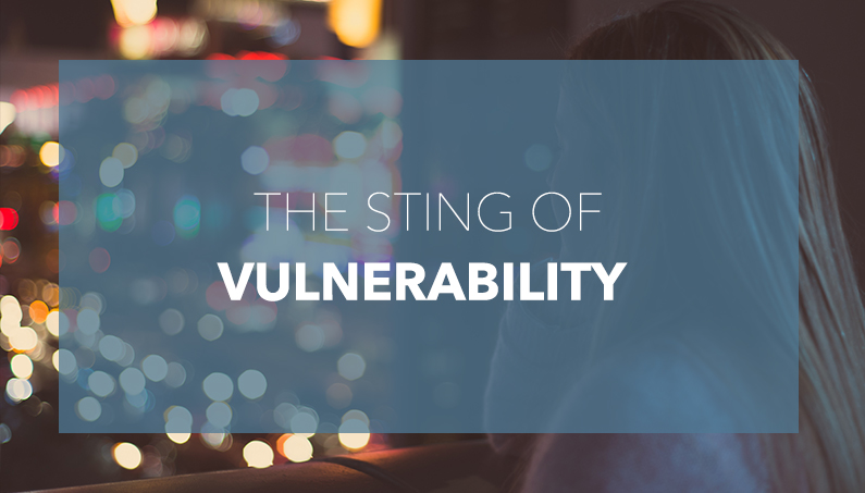 I'm Not Okay…The sting of Vulnerability