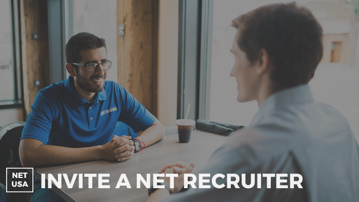 Invite a NET Recruiter